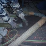 研削材回収システム
